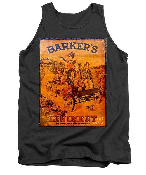 Vintage Ad Barker's Liniment Tank Top