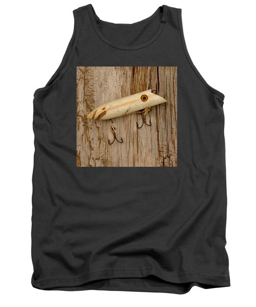 Vintage Fishing Lure Tank Top by Art Block Collections