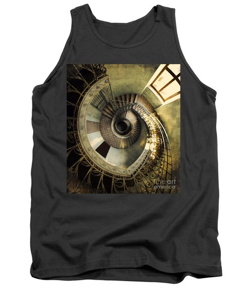 Vintage Spiral Staircase Tank Top