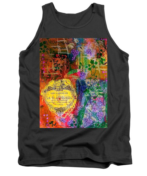 Vintner Label Tank Top