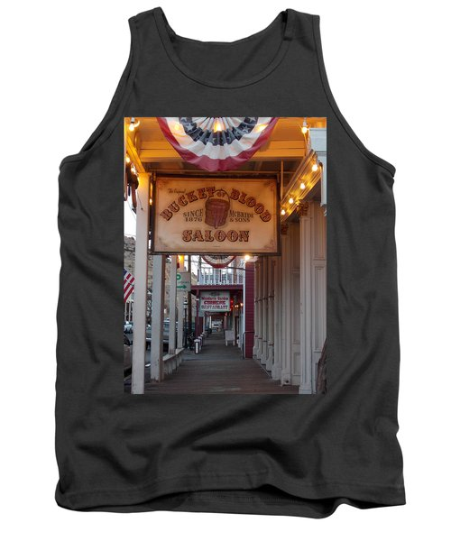 Virginia City Signs Tank Top