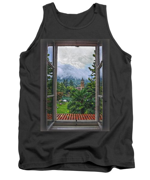 Vision Through The Window Tank Top by Hanny Heim