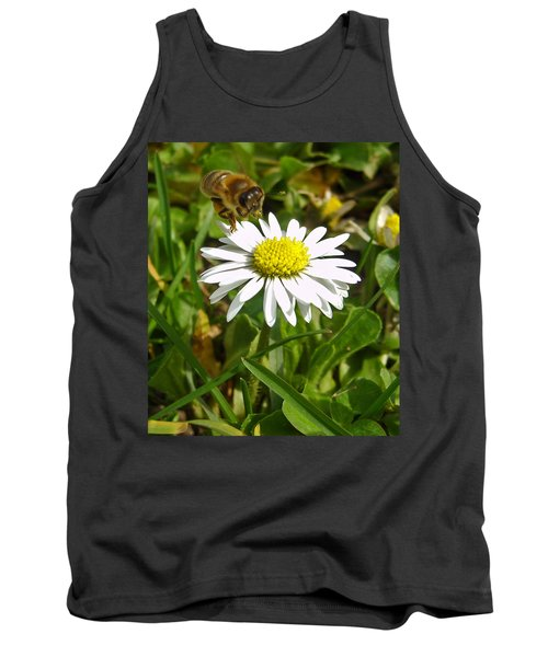 Tank Top featuring the photograph Visiting Miss Daisy by Nina Ficur Feenan
