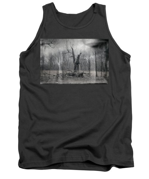 Visitor In The Woods Tank Top
