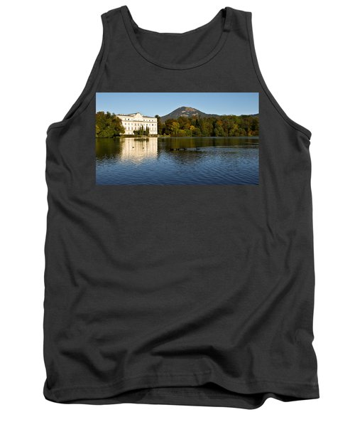Tank Top featuring the photograph Von Trapp's Mansion by Silvia Bruno