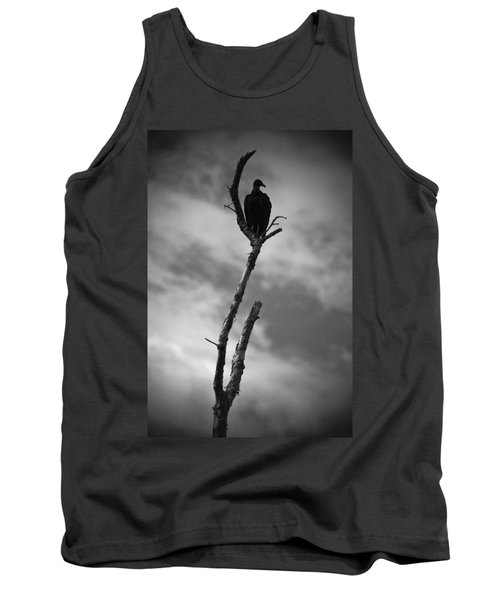 Vulture Silhouette Tank Top