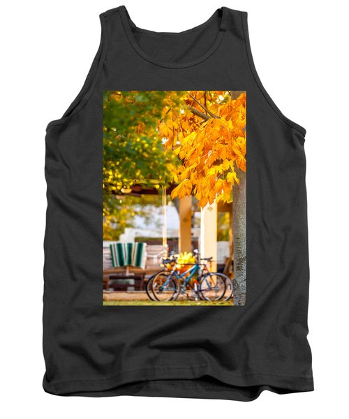 Waiting For A Ride Tank Top