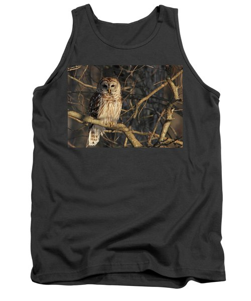 Waiting For Supper Tank Top by Lori Deiter