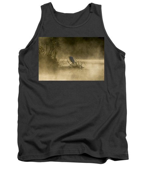 Tank Top featuring the photograph Waiting For The Sun by Steven Sparks