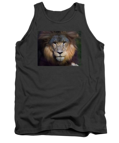 Waiting In The Shadows Tank Top by Tim Stanley
