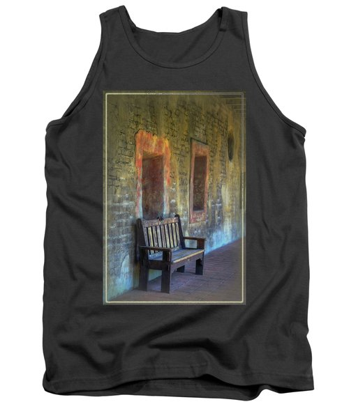 Tank Top featuring the photograph Waiting by Joan Carroll