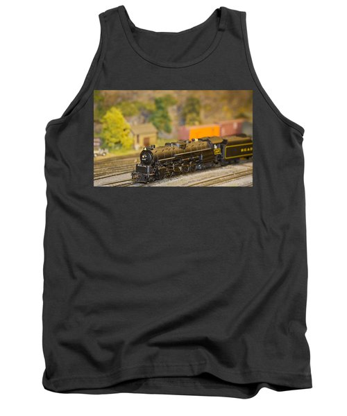Tank Top featuring the photograph Waiting Model Train  by Patrice Zinck