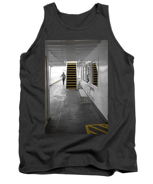 Tank Top featuring the photograph Walk This Way by Marilyn Wilson