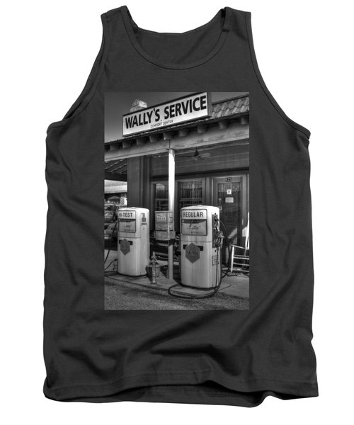 Wally's Service Station Tank Top by Michael Eingle