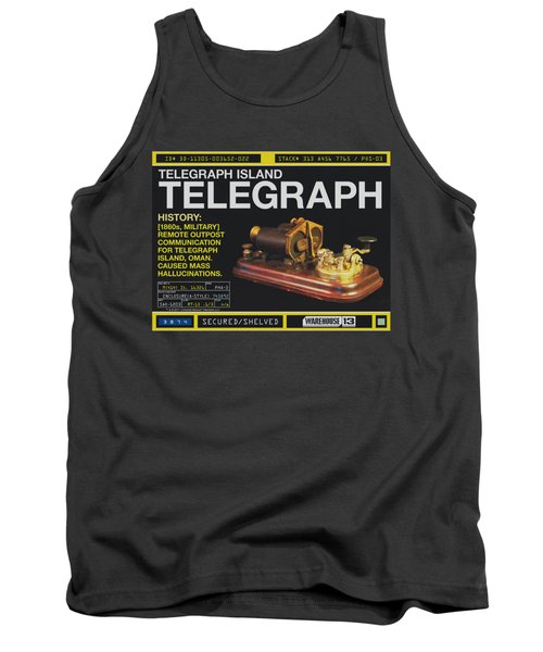 Warehouse 13 - Telegraph Island Tank Top