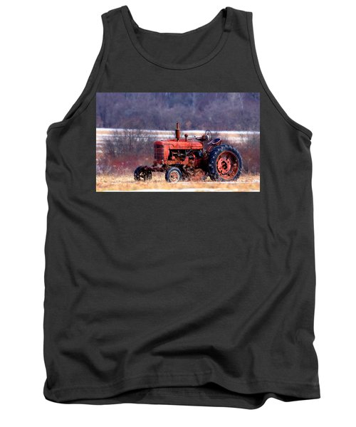 Warrior Of The Fields Tank Top
