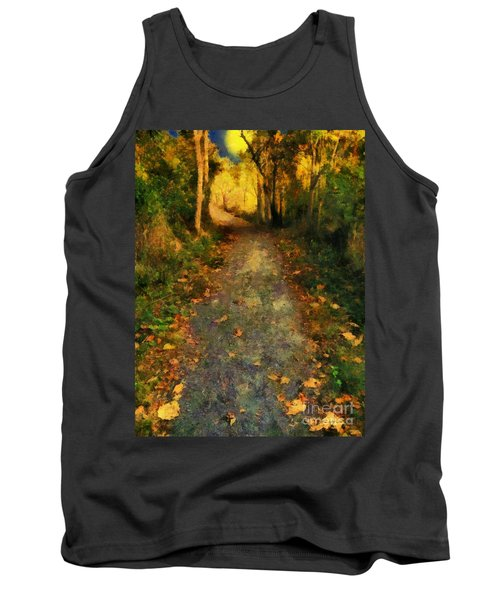 Washed In Gold Tank Top by RC deWinter
