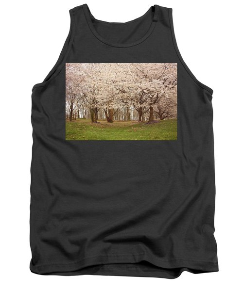Washington Dc Cherry Blossoms Tank Top