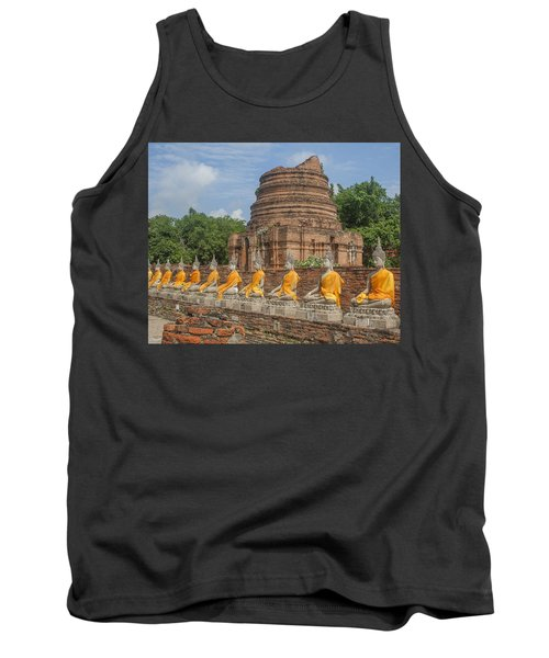 Wat Phra Chao Phya-thai Buddha Images And Ruined Chedi Dtha005 Tank Top