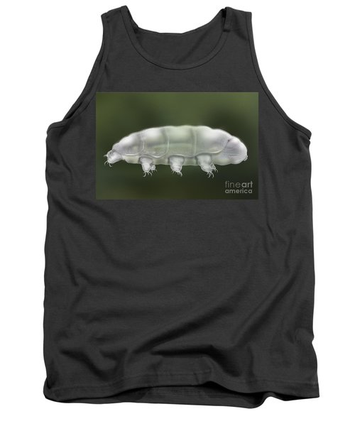 Water Bear Tardigrada - Waterbear Tardigrade  - Scientific Illustration Tank Top