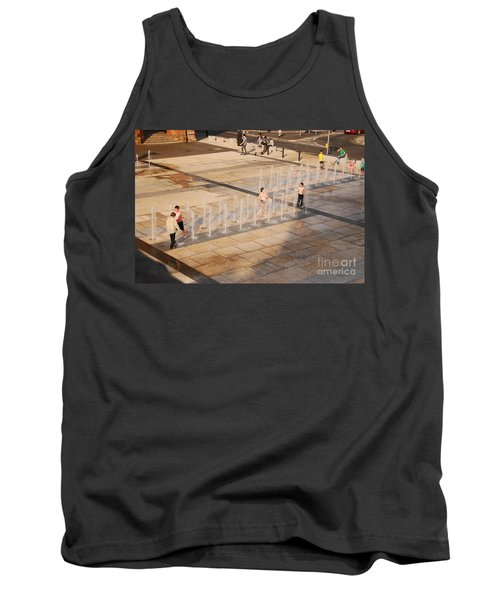 Water Fun Tank Top by Mary Carol Story