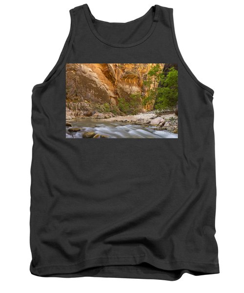 Tank Top featuring the photograph Water In The Narrows by Bryan Keil