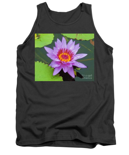 Water Lilies 005 Tank Top by Robert ONeil