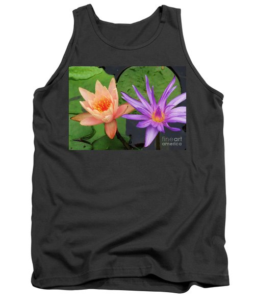 Water Lilies 011 Tank Top by Robert ONeil
