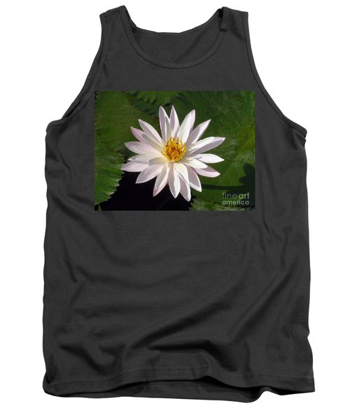 Water Lily Tank Top by Sergey Lukashin