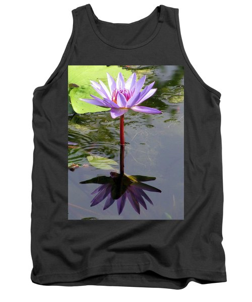 Water Lily - Shaded Tank Top