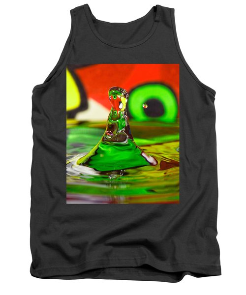 Tank Top featuring the photograph Water Mountain by Peter Lakomy