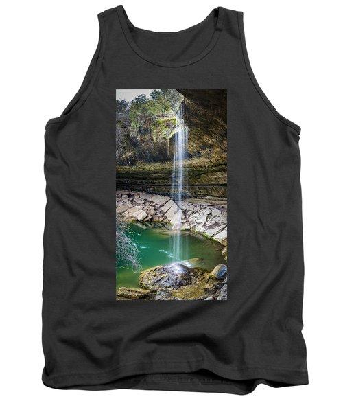 Waterfall At Hamilton Pool Tank Top