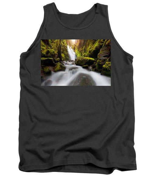 Waterfall Glow Tank Top