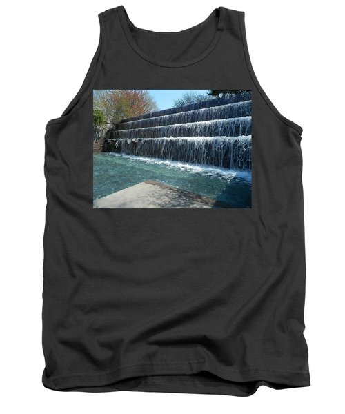 Tank Top featuring the photograph Waterfall Heaven by Emmy Marie Vickers