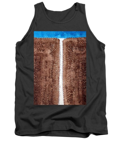 Waterfall Original Painting Tank Top