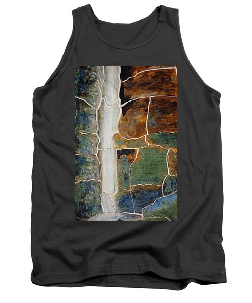 Waterfall Slate Tank Top