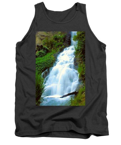 Waterfalls In Golden Gate Park Tank Top
