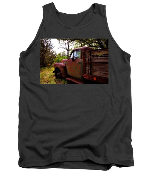 Tank Top featuring the photograph Watermelon Truck by Toni Hopper