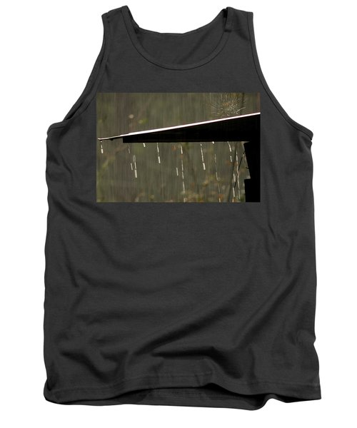 Tank Top featuring the photograph Waterworks by Charlotte Schafer
