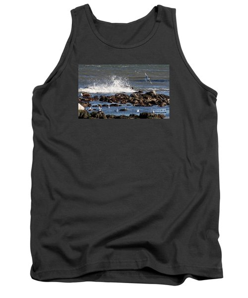 Waves Wind And Whitecaps Tank Top by John Telfer