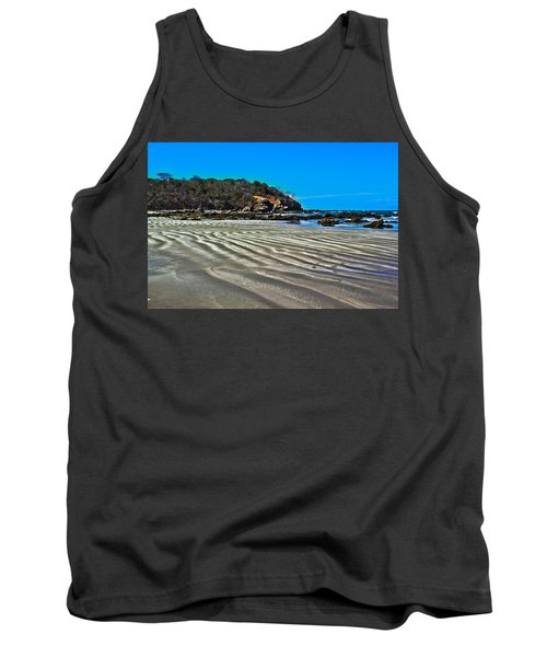 Wavy Beach Tank Top