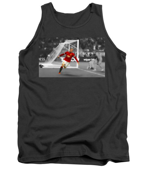 Wayne Rooney Scores Again Tank Top by Brian Reaves