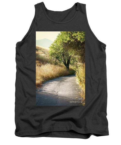Tank Top featuring the photograph We Will Walk This Path Together by Ellen Cotton
