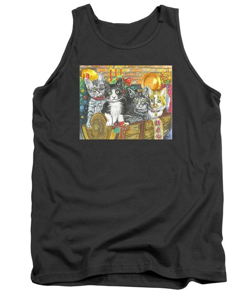 Tank Top featuring the painting In Harmony by Carol Wisniewski