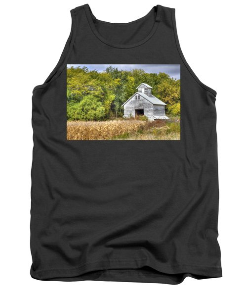 Weathered Barn Tank Top