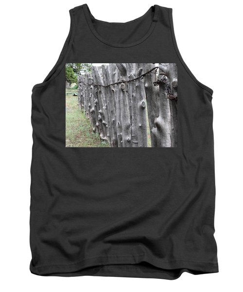 Tank Top featuring the photograph Weathered by Natalie Ortiz
