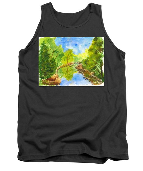 Weber River Reflection Tank Top