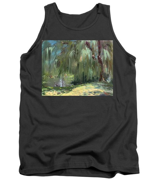 Weeping Willow Tree Tank Top