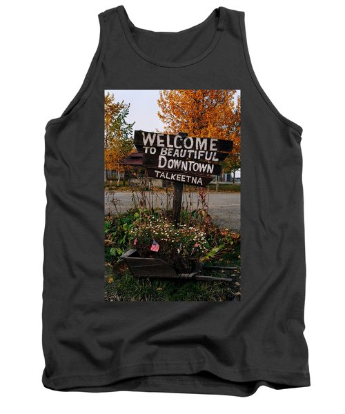 Welcome ... Tank Top