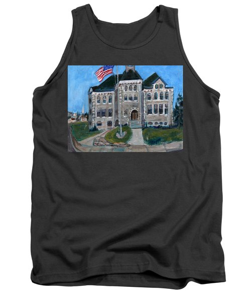 West Hill School In Canajoharie New York Tank Top by Betty Pieper